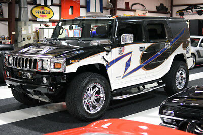 "2009 Hummer H2 H2 DURAMAX PREMIUM PACKAGE CUSTOM PAINT DVD PLAYER DURAMAX, 1-OWNER, CLEAN CARFAX, CUSTOM PAINT, NAV, DVD, 3RD ROW, 4WD, 22"" WHEELS"