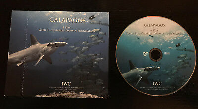"IWC DVD ""GALAPAGOS A Day With the Charles Darwin Foundation Exclusively for IWC"