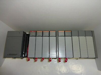 Allen-Bradley SLC 500 1756-P2 Power Supply 1746-A10 1746-OW16 1746-IA16