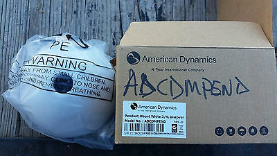 American Dynamics ADCDMPEND Pendant Mount White 3/4, Discover