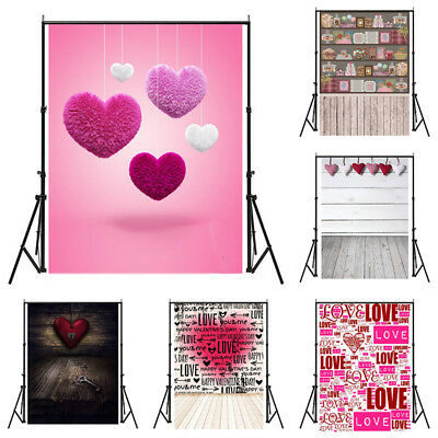 Valentine's Day Backdrop Dreamy Heart Theme Photography Background Photo Gift