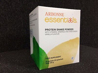 Arbonne Vanilla Protein Shake Mix - 10 Pack #2074 RRP £31