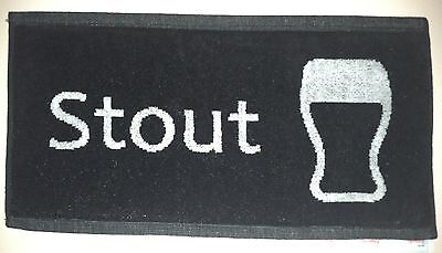 Exclusive Design! - Pub/Bar Towel - Beer - 100% Cotton - Set of 4 - NEW