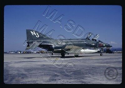 35mm Kodachrome Aircraft Slide - F-4G Phantom BuNo 150642 NJ111 VF-121 Sept 1966