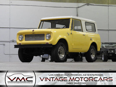 1967 International Harvester Scout -Check out 360° Walk around Video 1967 International Harvester Scout 800