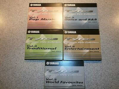 Yamaha Tyros Premium Style Collection Volume 1 - 5