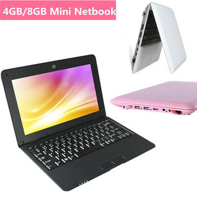 """10.1"""" NETBOOK MINI LAPTOP WIFI ANDROID 1.5GHz NOTEBOOK CAMERA HDMI USB Best Gift"""