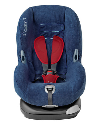 Maxi Cosi Priori XP Summer Cover Group 1 Car Seat Navy Blue BNIP £40