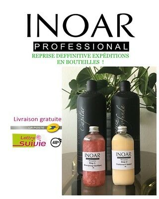 Lissage brésilien INOAR MARROQUINO kit de 2x150ml