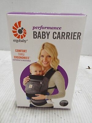 Ergobaby Performance Collection Baby Carrier in Charcoal Black