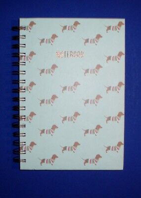 Blue Spiral Dachshund Notebook/Journal