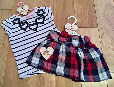 CLEARANCE 12-18 Months Baby Girls Clothing Multi Listing Dress Outfit Bundle Set