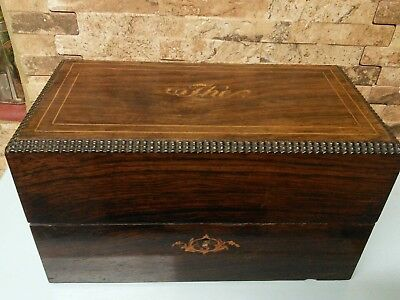 antique french tea caddy  Jewellery box