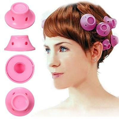 Magic Hair Roller, Y.F.M No Clip Soft Silicone Curlers Rollers Care Roll...