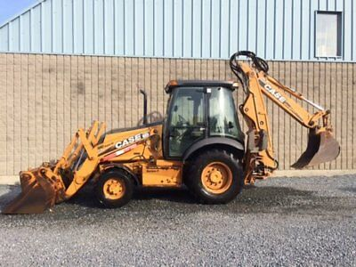CASE tractor wheel loader 2008 Case 580SM3 Very Clean Piece low hours.