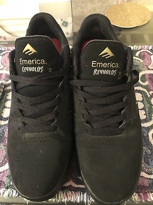 4e1cf420ee6 ... EMERICA REYNOLDS 3 ANDREW REYNOLDS SKATEBOARD SHOES SIZE 9 Used RARE ...