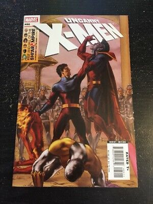 Uncanny X-men#480 Incredible Condition 9.4(2007) Henry Art!!