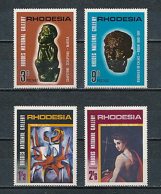 Rhodesia #250 -53 MNH,Rhodes National Gallery 1965