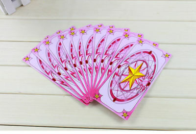 Hope Cosplay Card Captor Sakura Clow Cards Free Shipping New pink