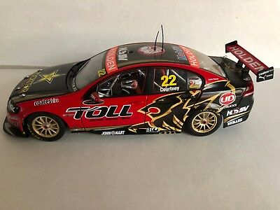 HRT James Courtney #22 V8 Supercars diecasts 1/18