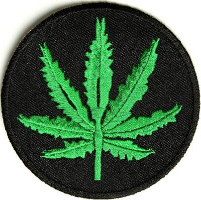 Marijuana Leaf Patch - By Ivamis Trading - 3x3 inch P2400 Weed Stoner Pot