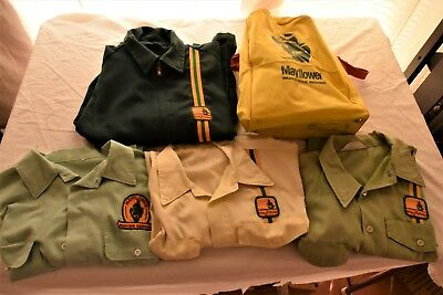 VTG Mayflower Moving Transit Service Uniform Shirt Lot