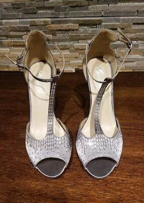 9ff0f925bcc CAMILLE LA VIE metallic crystal party shoes NEW with TAG sz 8 ...