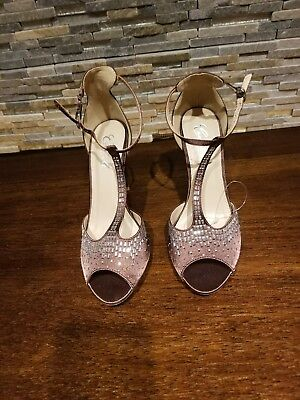 b77a8cf67fa Camille la vie Bronze Chocolate Brown party shoes NEW with TAG sz 10