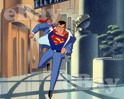 Rare! SUPERMAN ANIMATED SERIES Cartoon TV Photo WARNER BROS ANIMATION DC Comics