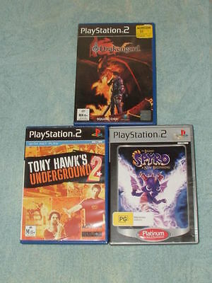 3 PlayStation 2 games: The legend of SPYRO A new beginning And more!