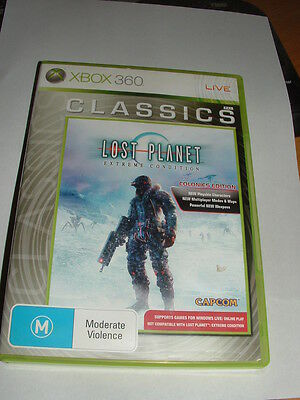 2 XBOX 360 Games. LOST PLANET and LOST PLANET 2.