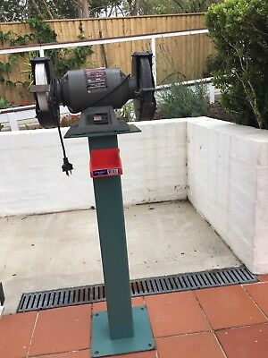 Abbot & Ashby Bench Grinder 8 Inch 200mm With Stand