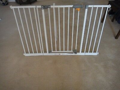 Baby Safety Gate With Two Extensions