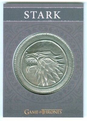 "House Stark ""shield Card H1 #284/300"" Game Of Thrones Season 4"