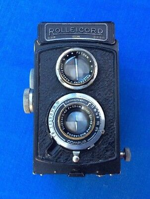Vintage Rolleicord Twin Lens Reflex Camera