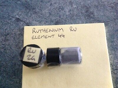 2 Grams 99.95% Ruthenium Ru Powder Sample