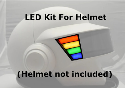 Thomas Bangalter RGB Sidebar Kit - Assembled - For helmet daft punk