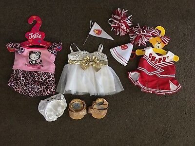 Build-A-Bear Clothing and Accessories Bundle