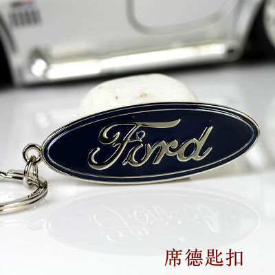 Metal Key Chain Car Logo Keyring Pendant Ring Accessories Keychain Ford #ss