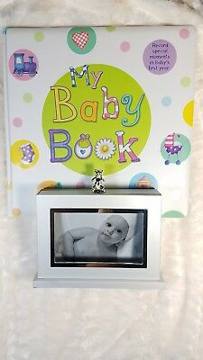 Baby Memory Book Keepsake Hardcover Baby's First Year Photo Album Gift Christmas