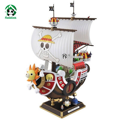 One Piece Action Toy Figures Thousand Sunny Ship Assembly Model PVC Anime Action