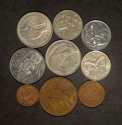 Good selection of coins from New Zealand (60g)