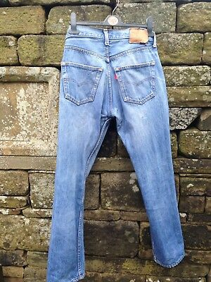 Vintage 501 Levi Jeans,USA made Late 1980's. 30x29