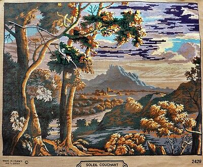 TAPESTRY CANVAS CREATIONS MARGOT de PARIS COMPLETE WITH ALL THREADS