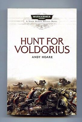 hunt for Voldorius. A.Hoare. Warhammer. Space Marine Battles. PB