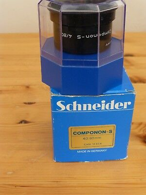 Schneider enlarger lens