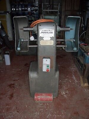 Double Polisher, Union Jubilee  Industrial.excellent Condition.