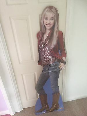 Hannah Montana Life Sized Cardboard Cut Out.