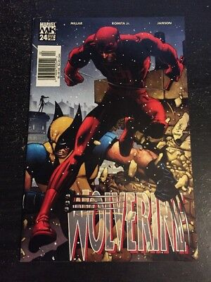 Wolverine#24 Incredible Condition 9.0(2005) Daredevil, Romita.jr Art!!