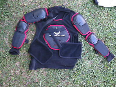 Motorcycle Body Armour Six Six One Size Youth MD Good Cond MX Off Road